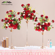 3 шт./лот, цветочные вазы, напольная металлическая ваза, растительный сушеный цветочный держатель, цветочный горшок, дорожный поводок для украшения дома/свадьбы, коридора, G103