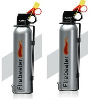 2 pcs Novelty Car Use Powder Fire Extinguisher Lightweight Portable Fire Extinguisher Suitable for Auto Laboratories Hotel