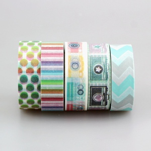 Image 5 - DHL free shipping Cute Kawaii 100pcs / Lot Tape Flowers Scrapbooking DIY Decorative Adhesive Japanese Washi Paper Tape For Gift