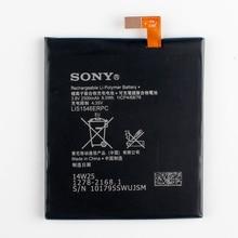 Оригинальный sony lis1546erpc аккумулятор для sony xperia c3 t3 s55t s55u d2502 d2533 m50w d5103 2500 мАч