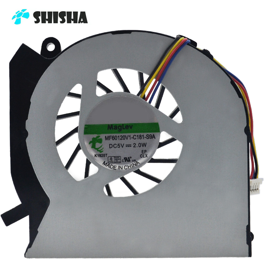 New cpu coolers for HP Pavilion DV6 DV6-7000 laptop cooling fan DV6T-7000 DV7 DV7-7000 cooler DFS481305MC0T MF75090V1-C100-S9A