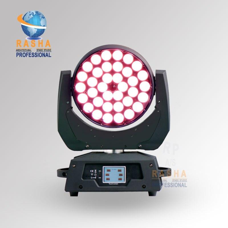 24X LOT Guangzhou Light 36*10W 4in1 RGBW Zoom LED Moving Head Wash,Stage Moving Head Light,Stage Light-Touch Screen LCD Display