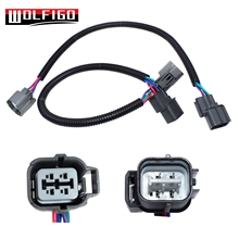 WOLFIGO 1 PC or 2PCS O2 Oxygen Sensor Extension Harness 4 Wire Cable K For Honda UP/Downstream 234-4065,213-3104,234-4099 New
