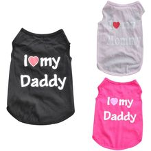 Daddy T-Shirt Size Pet Dog
