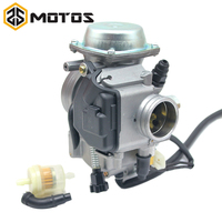 ZS MOTOS PD32J KLF300 Bayou 300 Motorcycle Carburetor Carb for Kawasaki ATV Honda TRX 400 Foreman 250cc 450cc