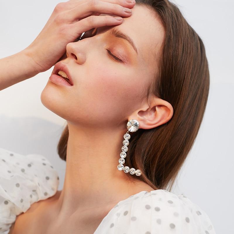 Devil's Eye Asymmetric Design Earrings Women's Temperament Personality Wild Earrings