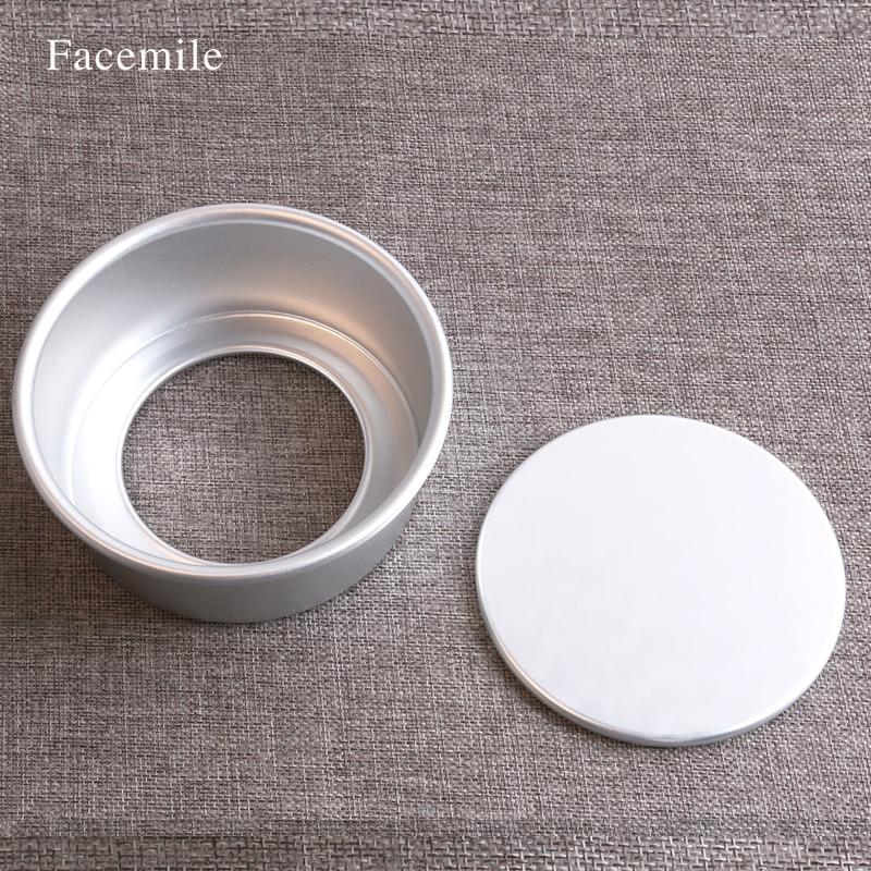 New 5 Inch Anodized Aluminum Round Cupcake Pan Cake