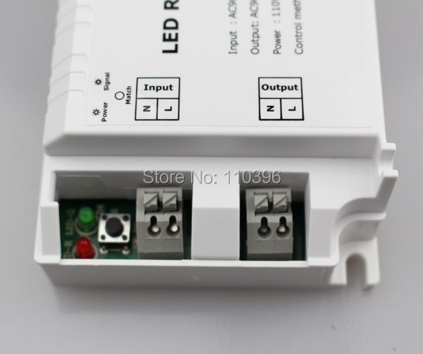 3 key draadloze afstandsbediening triac rf led dimmer controller voor - Lamp accessoires - Foto 5