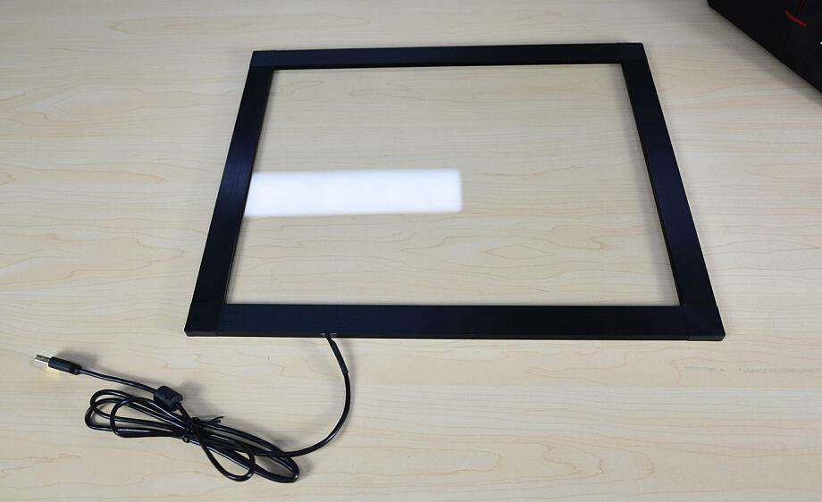 19 inch 4:3 two points 482mm*289mm IR touch panel support XP WIN7/8/10,Mac OS,linux ,android system,plug and play