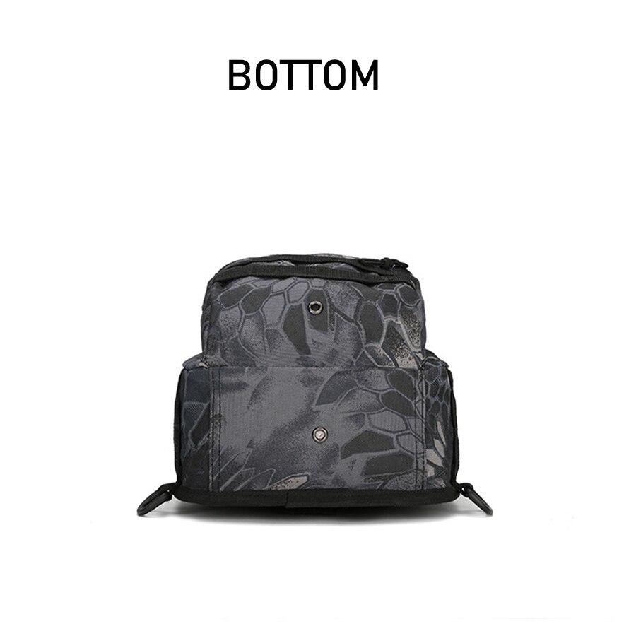 Tactical Bag Shoulder Molle Black (1)