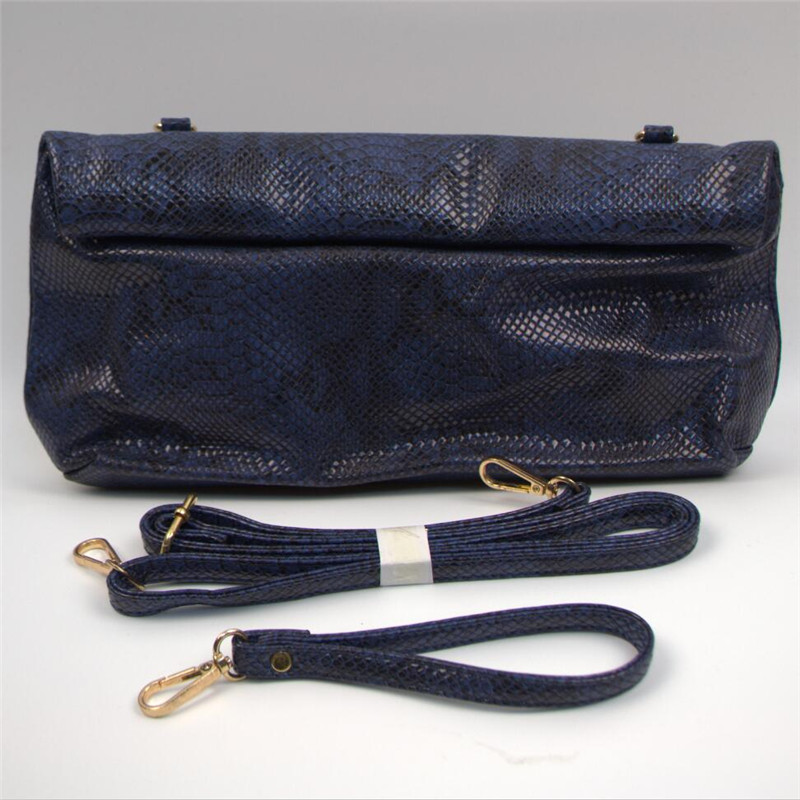 Bolsa de serpentina bolso de Las Mujeres de Moda de la señora hombro bolsa de Ma