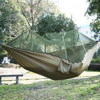 FF 210t Nylon Shioze Single Person Hammock Garden Outdoor Camping Travel Furniture Gammak Base Hamac Swing