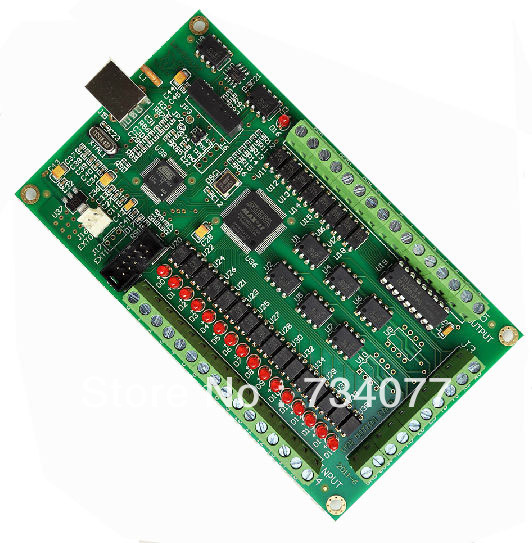 New 3 Axis CNC USB Card Mach3 200KHz Breakout Board Interface