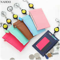 NAHOO Badge Reel Holder Retractable Reel Lanyards Id Badge Holder Visiting Cards ,Credit Card Holders,Cover on Student,Key ring