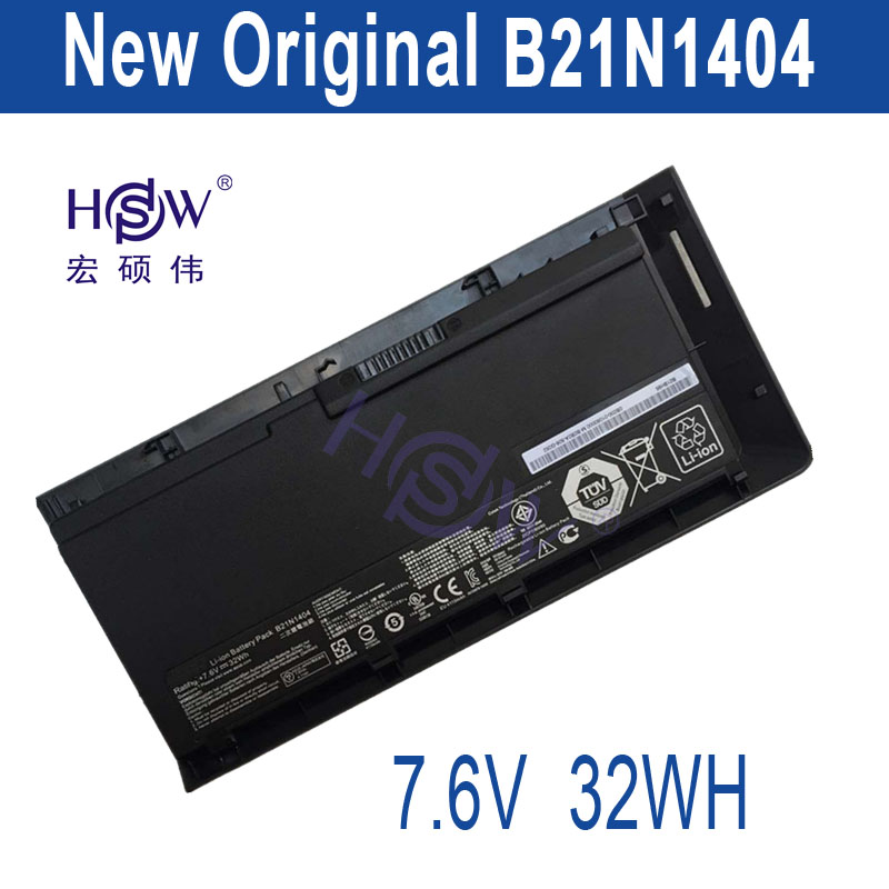 HSW New  laptop batteries for PRO Advanced BU201,PRO BU201L,B21N1404,PRO BU201LA,BU201,0B200-01060000,7.6V B21N1404 цены