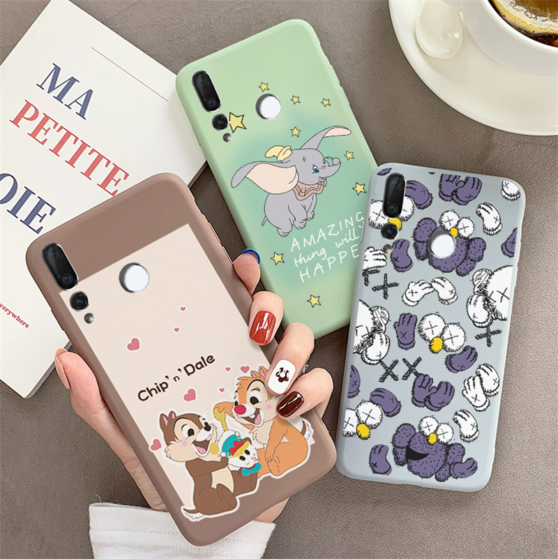 PDGB New Case For Huawei Honor 6C 6X 7X 7C Pro 8X Max Cute Soft Case Honor 9 10 lite Play V9 V10 V20 10i 20i Phone Cover cases