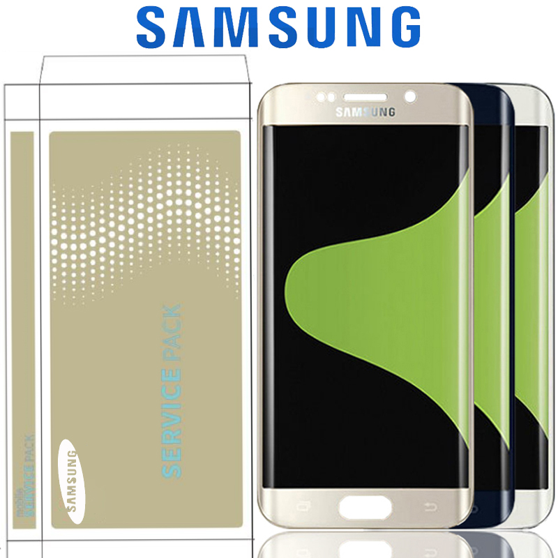 Original Super AMOLED Display For Samsung Galaxy S6 Edge Plus G928 G928F LCD For S6 Edge G925 G925I G925F Touch Screen Digitizer
