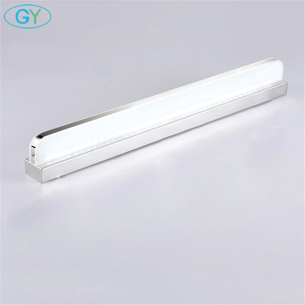 Modern Plug fürdőszoba LED-es tükörfény, led világítás öltözködéshez, sminkfeltöltő, luc maquillaje makyaj
