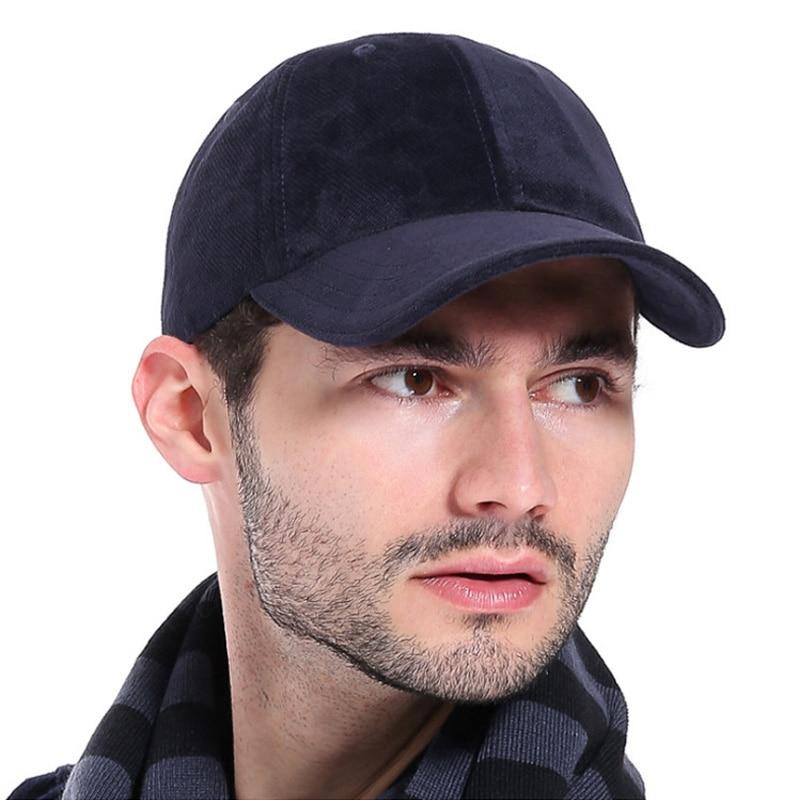 44b96d8567d  AETRENDS  Luxury Brand Cotton Velvet Baseball Caps for Men Women Sport Hats  ...