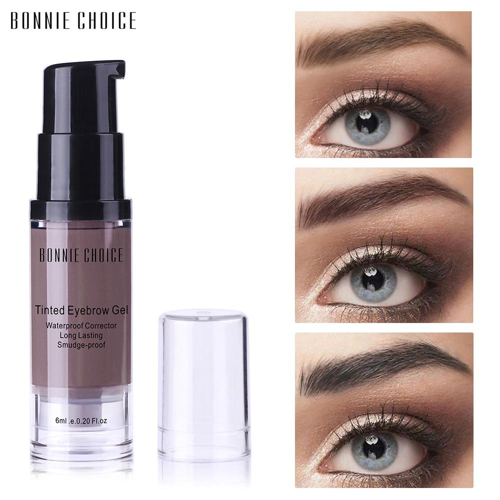 Bonnie Choice Eyebrow Gel 6ml Waterproof Henna Eyebrow Tint Gel