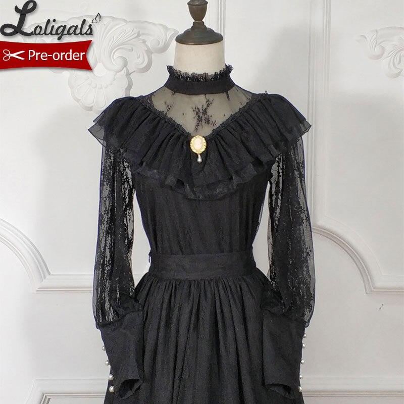 Kadın Giyim'ten Bluzlar ve Gömlekler'de Mandala ~ Gotik Vintage Illusion Uzun Kollu Bluz kadın Dantel Üst tarafından Bayan Nokta ~ kişiye Özel'da  Grup 1