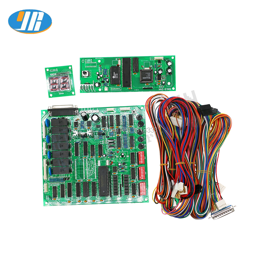 tai wang toy crane game machine pcb board arcade game board with wire harness claw game mother board [ 1000 x 1000 Pixel ]