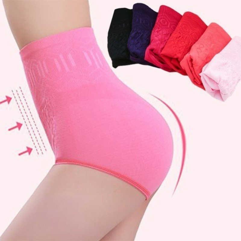 Бесшовное женское корректирующее белье с высокой талией для похудения, контроль живота, трусики, трусы, Корректирующее белье, женское нижнее белье
