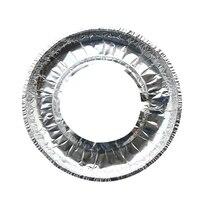 10 pçs fogão a gás almofada de limpeza grossa folha de alumínio de alta temperatura greaseproof folha de papel protetor capa acessórios de cozinha|Peças do exaustor| |  -