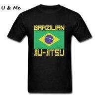 T Shirt Men Punk Emo Jitsu t shirty Dobry BJJ Brazylijskie Jiu-jitsu Kostiumy DIY Brazylia Dorosłych Odzież Topy