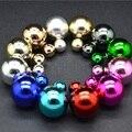 Ювелирные Изделия Серьги Горячий Продавать Круглый Двухместный Pearl Серьги Большой Жемчужные серьги для Женщин 1292