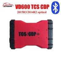 10ชิ้น/ล็อตTCS CDP OBD2ใหม่ล่าสุดVD600ที่มีบลูทูธ2015R3/2014R2 optinal VD 600 TCS CDP PRO 3 in 1 LED CDP proวินิจฉัย