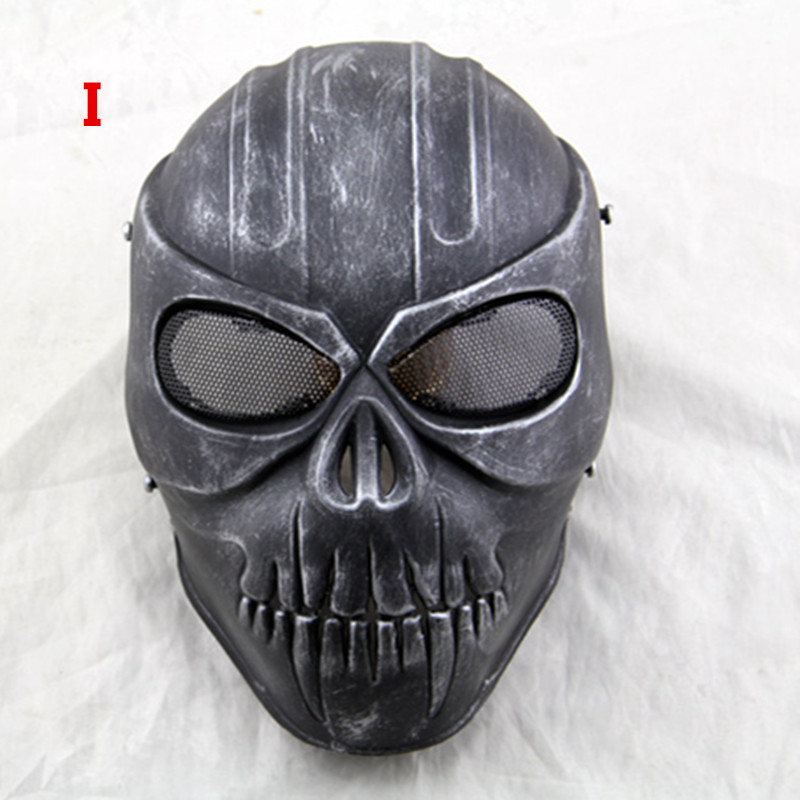 Outdoor Military Wargame Paintball Skull Mask OutdoorMaster - Laskmine - Foto 1