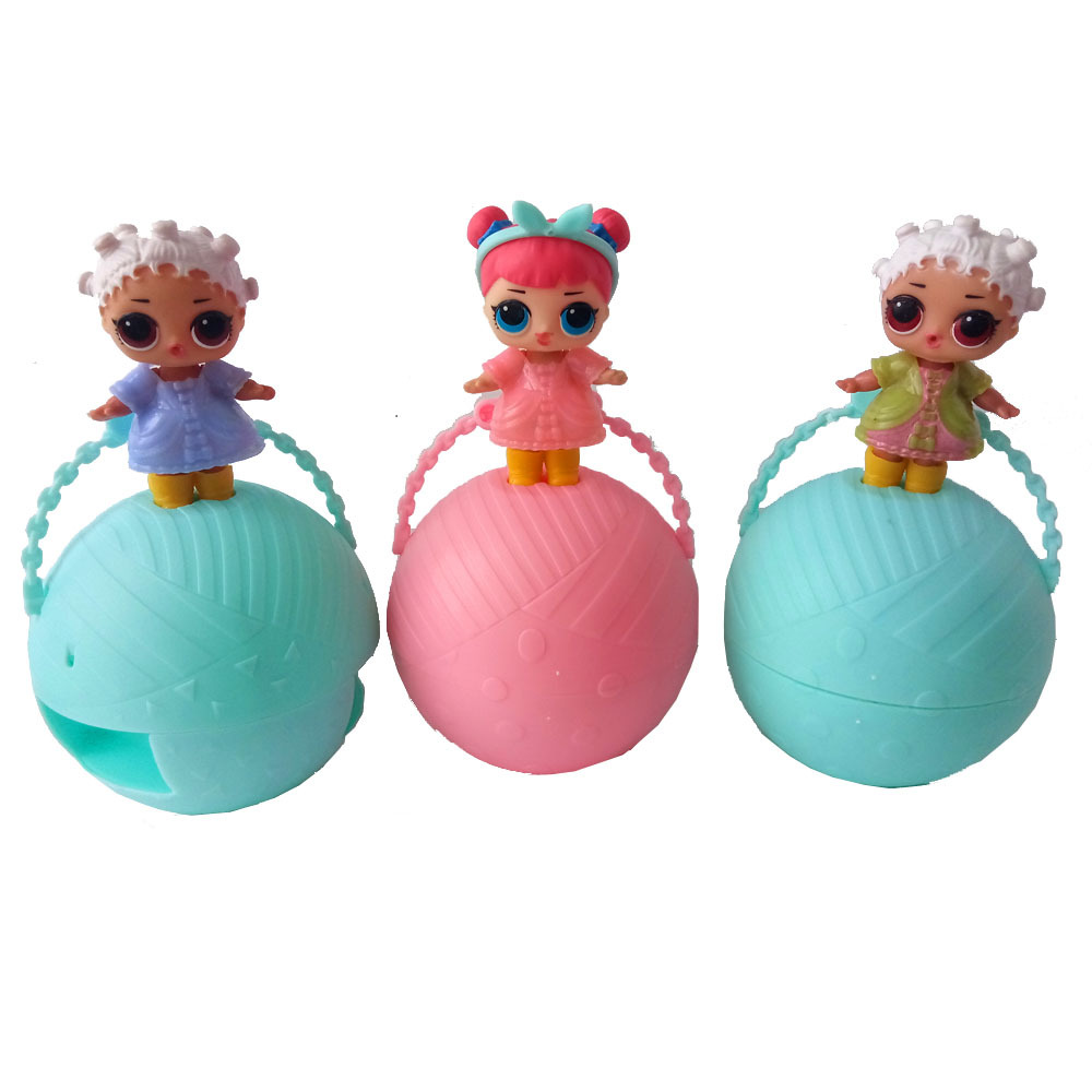 3ps/lot Girls Cartoon new Doll Water Spray Egg Ball Color Change Action Figures Toy for Children Dolls new Kids Birthday Gifts inflatable water spoon outdoor game water ball summer water spray beach ball lawn playing ball children s toy ball