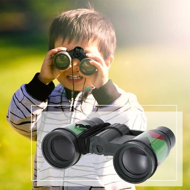 Kids Telescope Children 10x30 Binocular Camouflage Outdoor Hunting Portable Rope