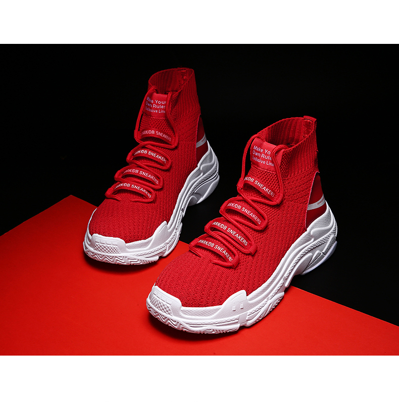 HTB15EmLXHj1gK0jSZFOq6A7GpXa9 Sneakers Men Shoes For Male Sharks Trainers Lovers High Top Footwear Sapatos Masculino Summer Breathable Chaussures Pour Hommes
