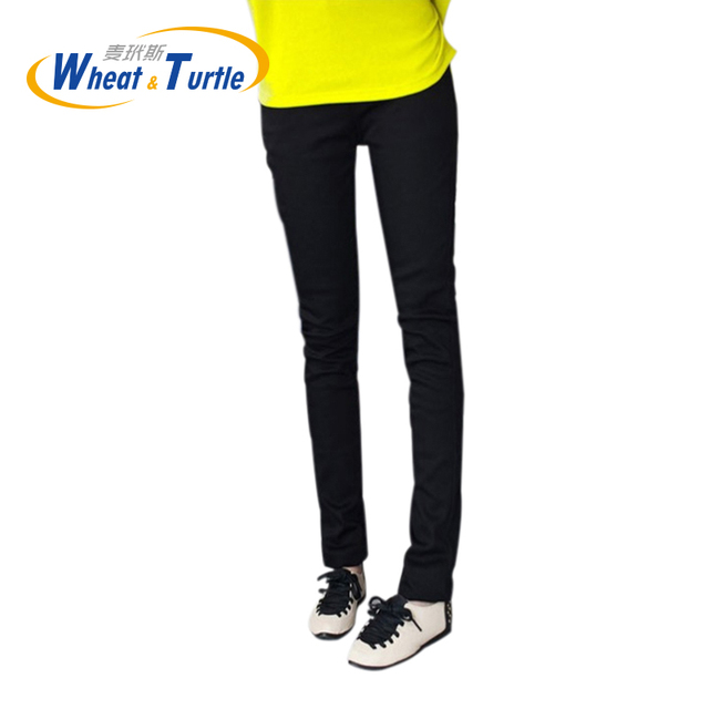 2016 Hot Sale Good Quality Cotton Thicken Velvet Maternity Warm Pencil Pants All Match  Winter Warm Slim Trousers For Pregnant