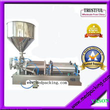 5-100ml double heads Cream Shampoo Cosmetic Automatic Filling Machine YS-MK673 GRIND