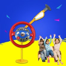 Children Playing Toy Funny Electronic Backseat Driver Car Seat Steering Wheel Kids Children Driving Toy