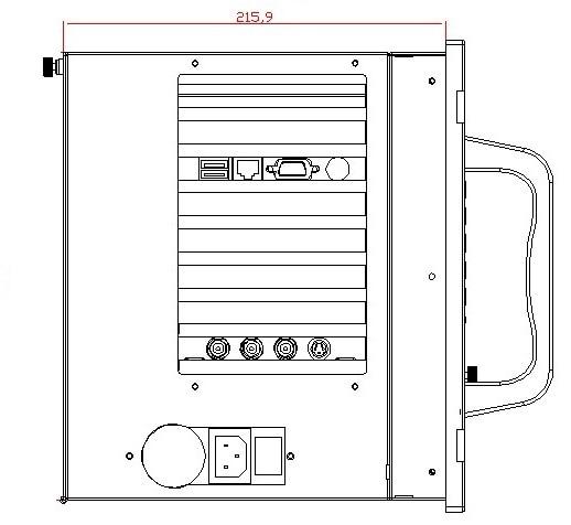 19 colių, 7 colių lentynos montuojamas pramoninis kompiuteris, 15 - Pramoniniai kompiuteriai ir priedai - Nuotrauka 4