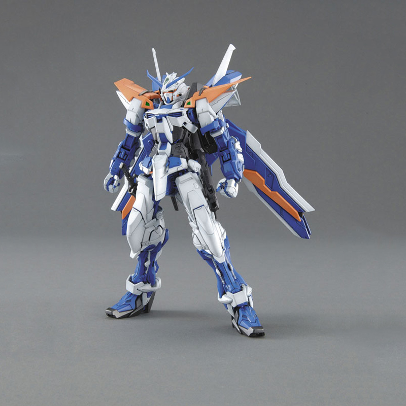 DABAN Model 1/100 MG 6605 Blue Sword Puzzle Giant Sword Blue Heresy L shaped GUNDAM Action Figure Out of Print Kids Toys Gifts