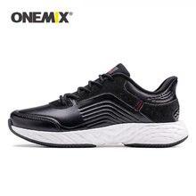 Кожаные кроссовки onemix спортивная обувь для мужчин high tech