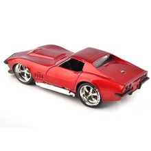 1/32TH Simulation Sting Ray ZL-1 Red Car JADA TOYS 9851 1969 Corvette Diecast Toys Collection Hobbies Model Toy Kids Gift