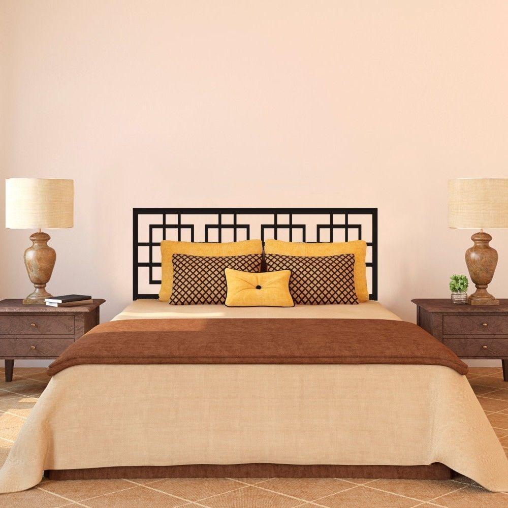 Couple bedroom wall decoration ideas - Aliexpress Com Buy Modern Headboard Wall Decal Master Couple Bedroom Vinyl Art Removable Decor Idea 23inx60in From Reliable Headboard Wall Decal Suppliers