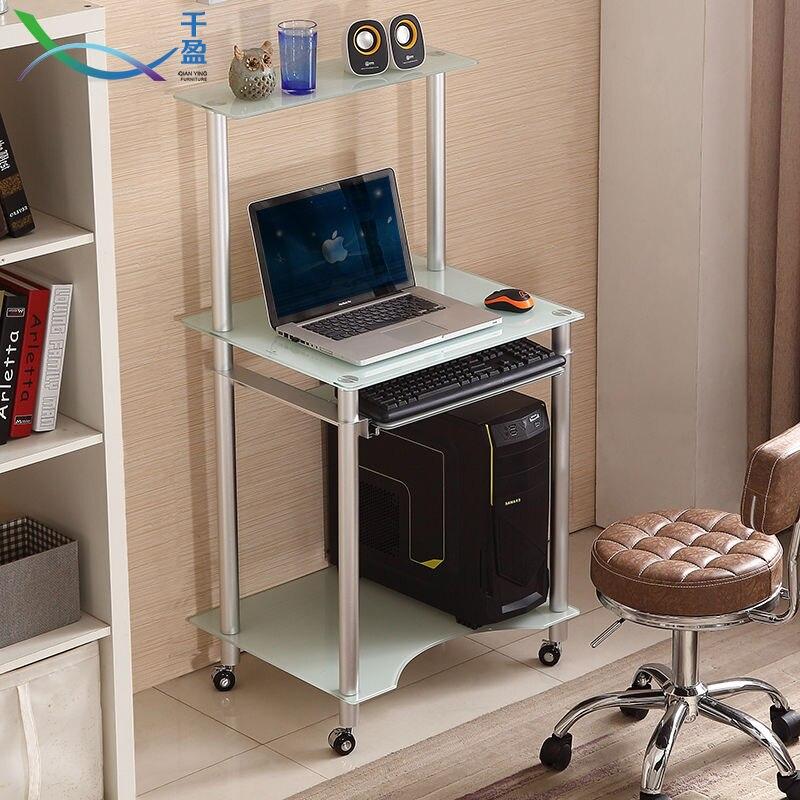 Escritorio de la computadora esquina moderno minimalista for Muebles para computadora