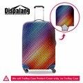 Креативный дизайн поездки тележки для багажа крышки отлично упругой водонепроницаемый чемодан защитная крышка для 18-30 дюймов багажник случае