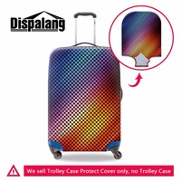Creative design travel trolley luggage cover excellent elastic waterproof suitcase protective cover for 18 30 inch trunk case
