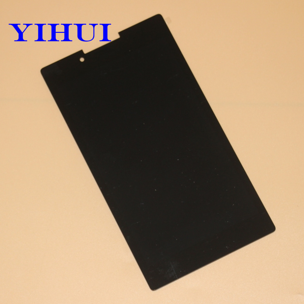 YIHUI For Lenovo Tab 2 A7-30HC A7-30 A7-30DC LCD Display+Touch Screen Digitizer Sensors Glass Full Assembly Tablet Pc Parts original full lcd display touch screen digitizer glass assembly for lenovo tab 2 a7 30 a7 30gc free shipping