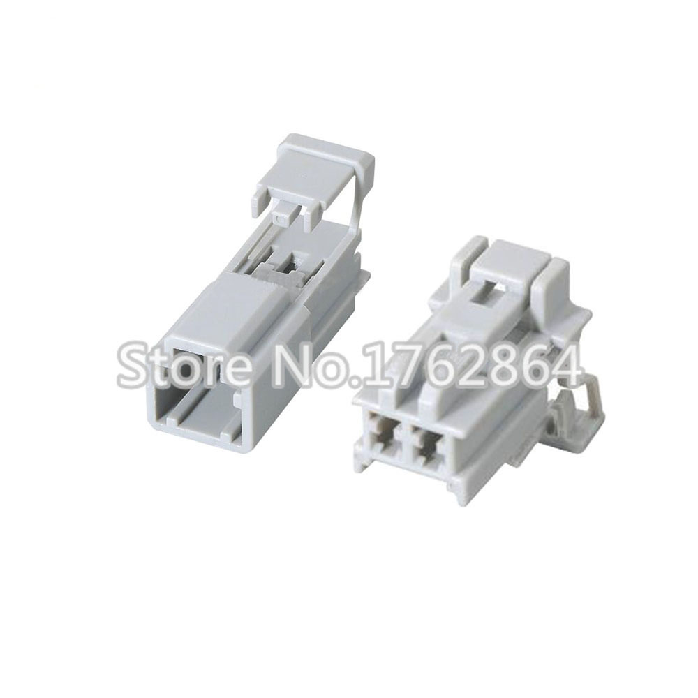 5 Set Female Male 2 Pin Automobile Motor Car Engine Lamp Socket Plug Wire Harness Connector 5 set female male 2 pin automobile motor car engine lamp socket  at readyjetset.co