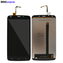 For Doogee T6 LCD Display Touch Screen Digitizer High Quality Phone Parts For Doogee T6 Screen LCD Display for doogee dg700 new assembly doogeedg700 phone touch screen lcd display screen to display on the outside