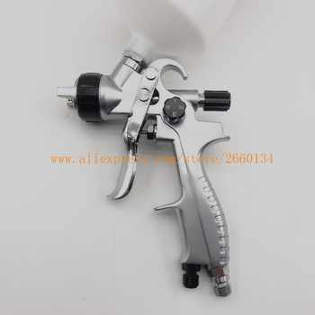 Free shipping HVLP Spray gun for painting cars H319 Suitable for spraying primer Gravity Feed with 1.3mm nozzle 600ml Pot